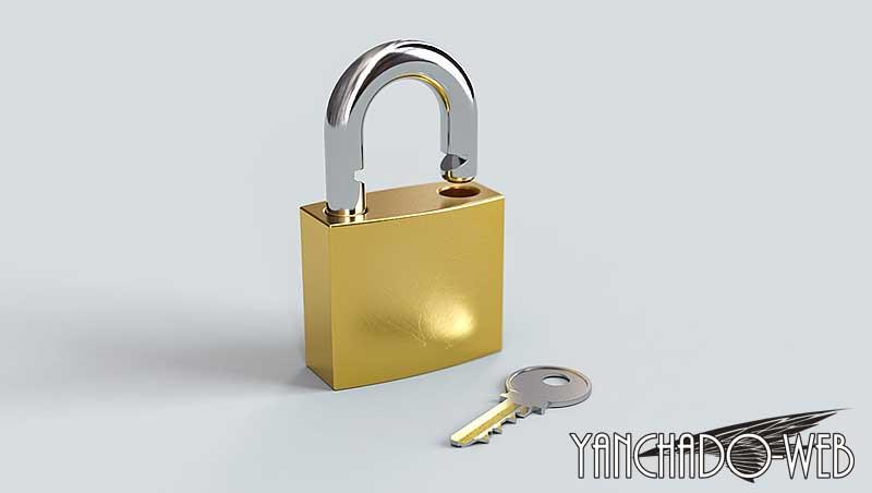 アドレスバーに「保護されていない通信」とか「鍵」マークが無い?